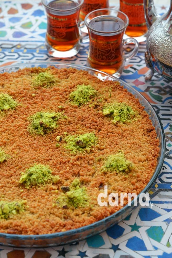 Arabic knafeh with walnuts Darna magazine