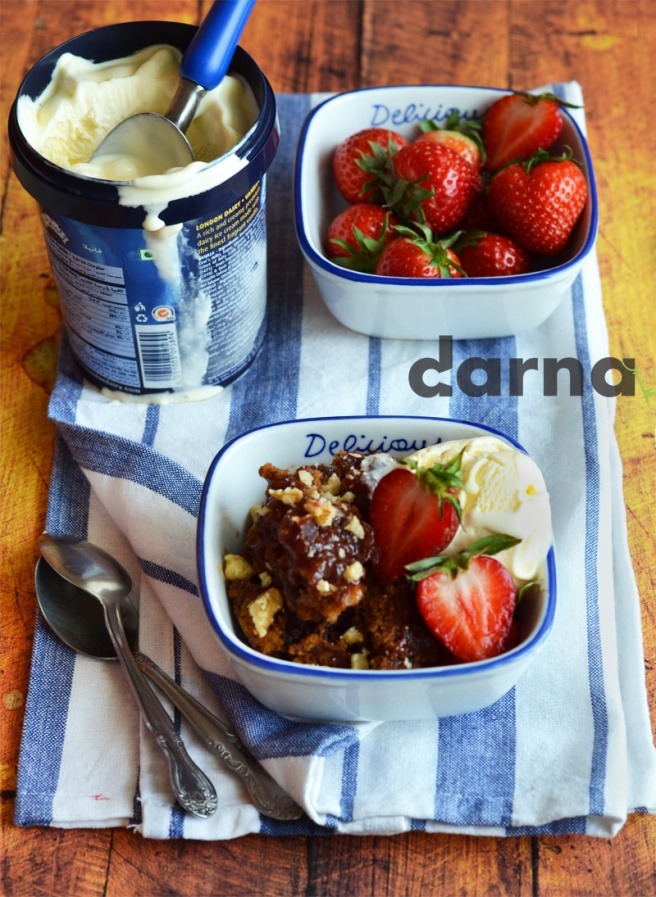 date pudding cake from Darna magazine