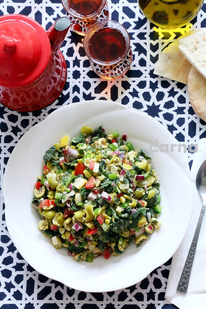 Olives and Za'tar Salad