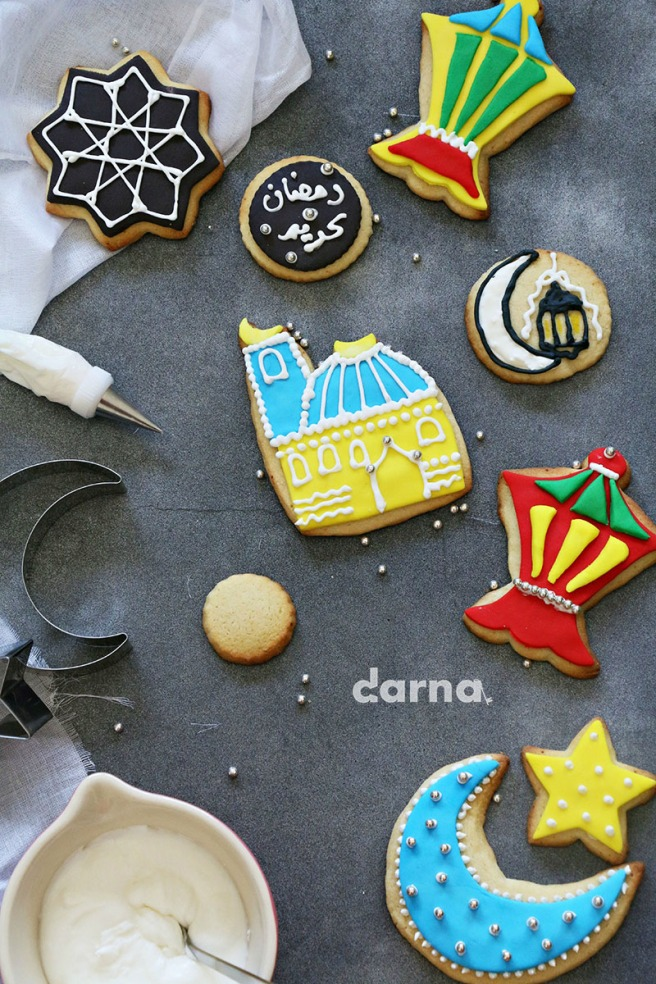 Eid Sugar cookies