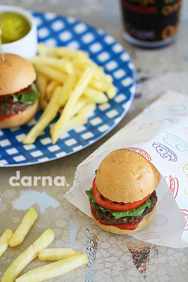 Arabic burger