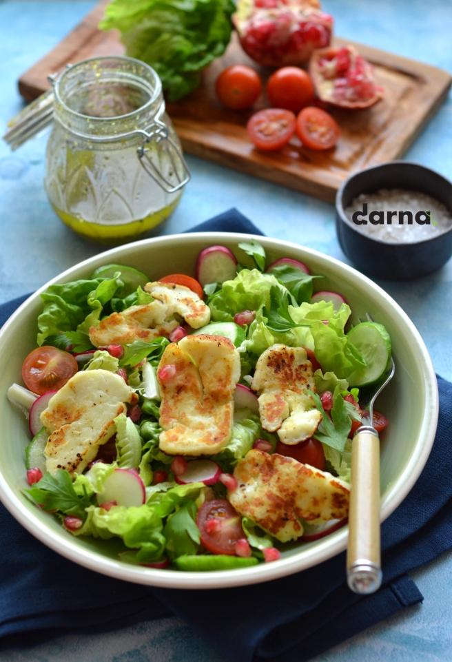 Halloumi salad darna magazine