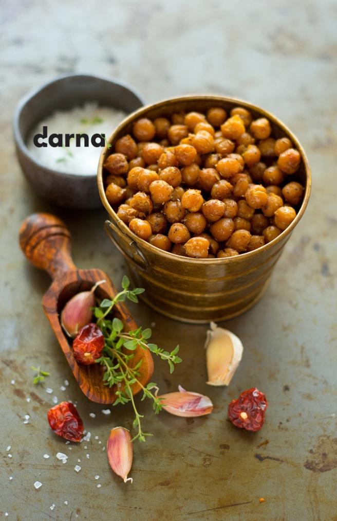 roasted chickpeas darna