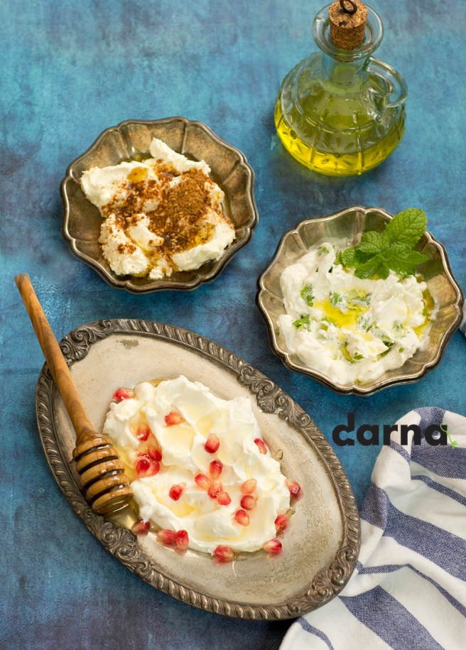 labneh with flavors darna