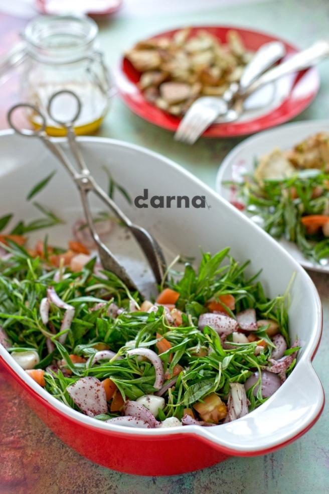 darna zaatar salad