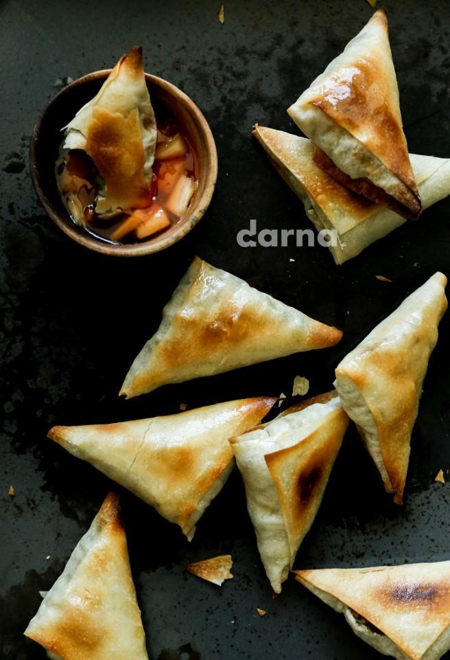 indian potato sambousik